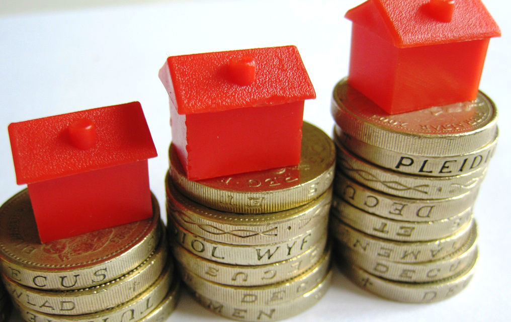 Official figures show rents in Britain rose an average 2.3% in a year