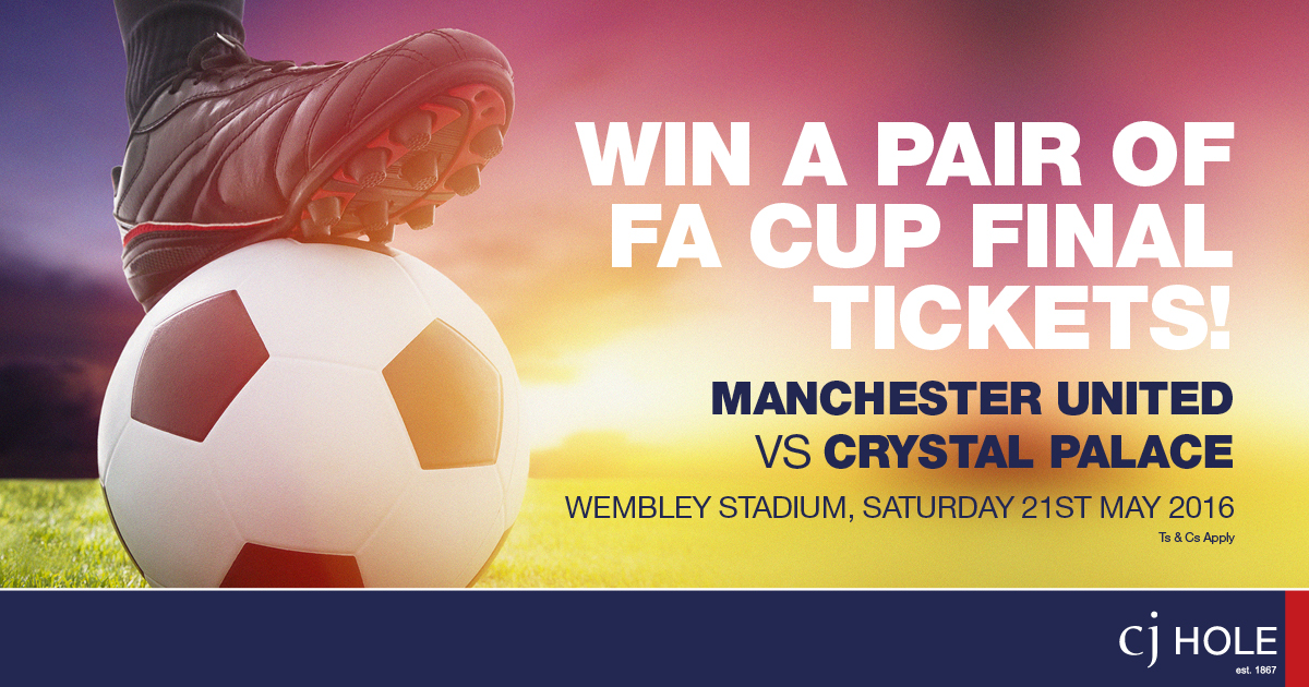 Win a Pair of FA Cup Final Tickets!