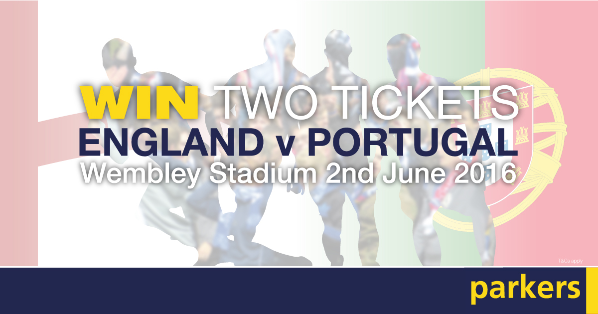 Win a Pair of Tickets to Watch England vs Portugal at Wembley Stadium!