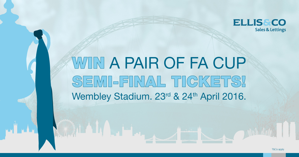 Win a Pair of FA Cup Semi-Final Tickets!