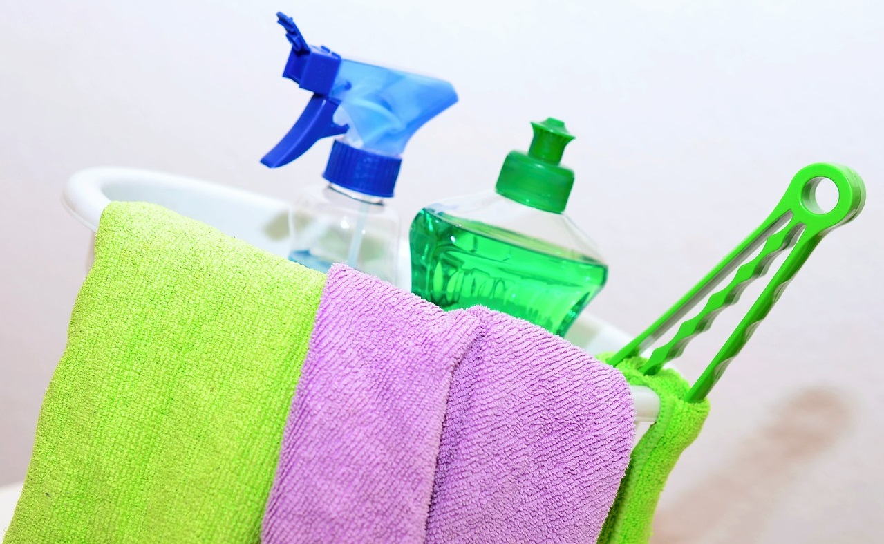 Top tips for spring cleaning your property