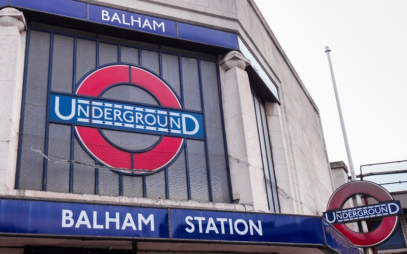 Balham underground station - small