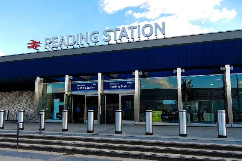 Reading train station