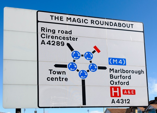 Magic Roundabout Swindon