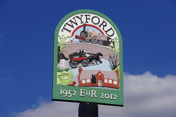 Twyford sign