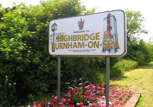 Burnham sign